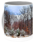 A Winters Scene Coffee Mug