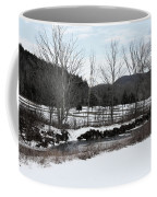 A Wintery Day In Vermont Coffee Mug