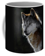 A Wolf 2 Digital Art  Coffee Mug