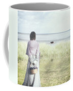 A Woman And The Sea Coffee Mug by Joana Kruse
