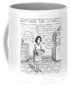 A Woman Describes Her Tuna Casserole Coffee Mug