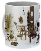 A Woman In A Hammock And Porch Furniture Coffee Mug