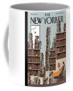 Fall Library Coffee Mug
