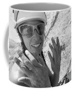 A Woman Rock Climber In Titcomb Basin Coffee Mug