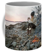A Woman Takes A Cell Phone Picture Coffee Mug