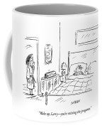 A Woman Wakes Up Her Husband At 6:17 Am Coffee Mug