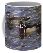 A Wood Duck Pair  Coffee Mug
