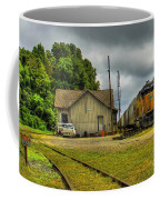 A Workhorse At The Madison Station Coffee Mug
