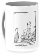 A Young Boy Complains About What's For Dinner Coffee Mug