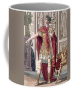 A Young Emperor In His Imperial Armour Coffee Mug