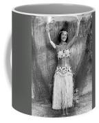 A Young Hawaiian Hula Woman Coffee Mug