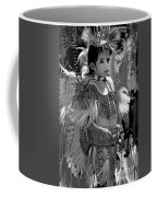 A Young Warrior - B W Coffee Mug