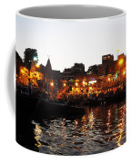 Aarti At Dashashwamedh Ghat 2 Coffee Mug