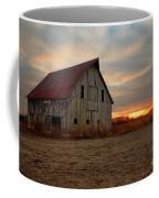 Abanded Barn At Sunset Coffee Mug