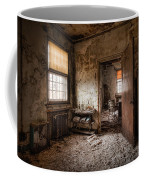 Abandoned Asylum - Haunting Images - What Once Was Coffee Mug
