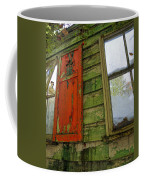 Abandoned Cabin Elkmont - Coming Down Clover Coffee Mug