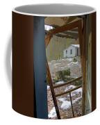 Abandoned Cabin Elkmont Smoky Mountains - Screened Door Old House Coffee Mug