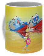 Abandoned Fishing Boats Tavira Coffee Mug