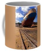 Abandoned Fishing Ship Coffee Mug