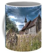 Abandoned Grave In The Churchyard Coffee Mug