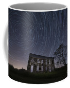 Abandoned History Star Trails Coffee Mug by Michael Ver Sprill