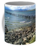 Abandoned Old Pier In Puerto Natales Chile Coffee Mug