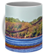 Abandoned On The Delaware River Coffee Mug