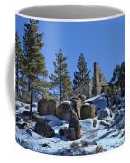 Abandoned On The Mountain Coffee Mug