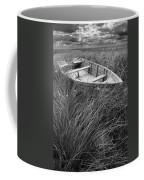 Abandoned Row Boat Along The Shoreline On Prince Edward Island Coffee Mug