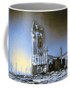 Abandoned Slaughterhouse In Winter Coffee Mug