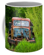 Abandoned Truck In Rural Michigan Coffee Mug