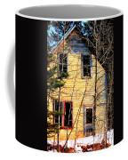 Abandoned Yellow House Coffee Mug