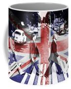 Abbey Road Union Jack Coffee Mug