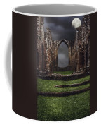 Abbey Steps Coffee Mug by Amanda Elwell