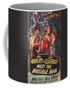 Abbott And Costello Meet The Invisible Man  Coffee Mug