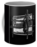 Abe Lincoln In Black And White Coffee Mug