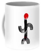 Aboriginal Figure Coffee Mug