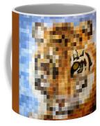 About 400 Sumatran Tigers Coffee Mug by Charlie Baird