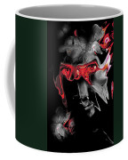 About Face Abstract Portrait Coffee Mug