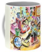 About Women And Girls 05 Coffee Mug by Miki De Goodaboom