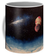 Above Alien Clouds Coffee Mug