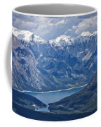 Above Lake Minnewanka #2 Coffee Mug
