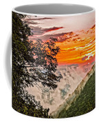 Above The Clouds - Paint Coffee Mug