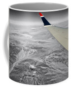 Above The Clouds Wing Tip View Sc Coffee Mug