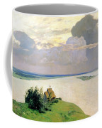 Above The Eternal Peace Coffee Mug by Isaak Ilyich Levitan