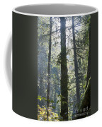 Above The Firs Coffee Mug