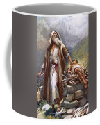 Abraham And Isaac Coffee Mug by Harold Copping