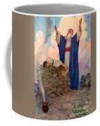 Abraham And Isaac On Mount Moriah Coffee Mug