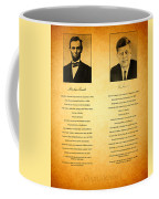 Abraham Lincoln And John F Kennedy Presidential Similarities And Coincidences Conspiracy Theory Fun Coffee Mug