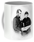 Abraham Lincoln And Tad Coffee Mug